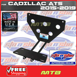 License Plate Bracket For 2015 2016 Cadillac Ats Quick Release Sto N Sho Sns83