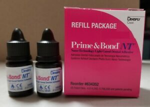 Prime Bond Nt Nano technology Dental Adhesive 2 X 4 5ml Liquid By Dentsply Usa