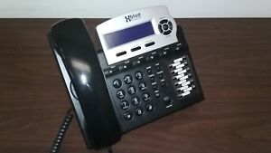 Xblue Network X16dte 1670 00 Clean Condition Charcoal Telephone
