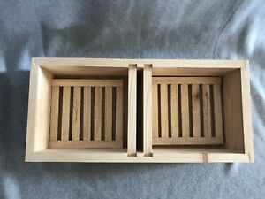 5 Frame Wooden Hive Top Feeder With Floating Racks