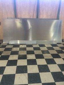1 Aluminum Diamond Plate Sheet 4 X 10 48 X 120 Chrome Finish