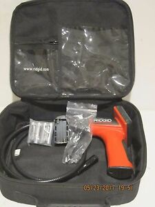 Ridgid 25643 Seesnake Micro Inspection Camera Kit w tools cable Free Ship Newoth