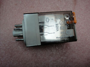 Finder Type 60 12 8 10amp 250v Relay Lot Of 6