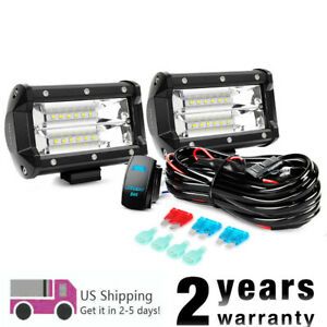 Nilight Off Road Led Light Bar With 5pin Wiring Harness Kit For Truck Jeep 4wd