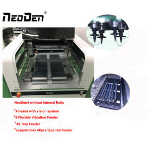 4 Heads Smt Desktop Pick And Place Machine Neoden4 With Vision 19 Feeders j