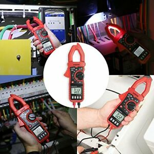 Digital Clamp Meter Multimeter Fluke Voltage Ac Dc Amp Volt Tester 4k Count Usa
