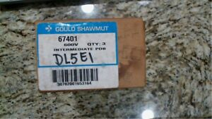 Gould Shawmut 67401 Power Distribution Block 1p 600v Free Shipping