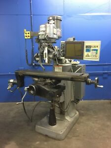 Bridgeport Ez Trak Dx Knee Mill ontario Calif