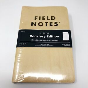 Field Notes roastery Edition New Sealed rare