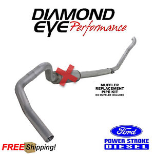 Diamond Eye 5 Inch Turbo Back Exhaust For 1994 1997 5 Ford Superduty 7 3l Diesel