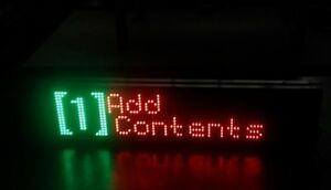 Signtronix Led 40 c Bannerlite V3 Indoor window Programmable Sign