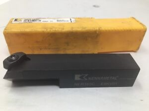 New Kennametal Indexable Lathe Tool Holder 1 X 1 Shank Ner163c E8kv01
