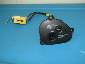 2001 Dodge Ram 1500 Oem Rh Passenger Side Air Bag Switch