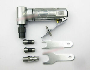 1x Angle Pneumatic Air Die Grinder Polishing Wg 022 With Accessories
