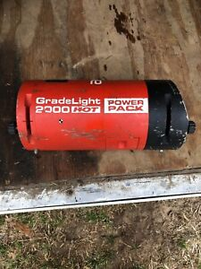 Agl Gradelight 2000 Hot Pipe Laser Pipeline Alignment