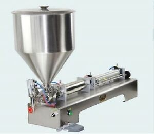 110v Cream Filling Machine G1wg 500 Ml With 1 Tube Pneumatic