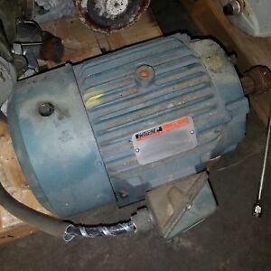 Reliance Electric P21g3319h 10hp 215t 3 Phase Motor