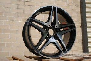 19 Amg Black Style Wheels Rims Fits Mercedes Benz Cls500 Cls550 Cls55
