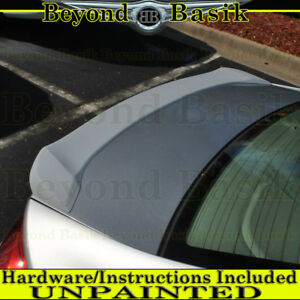 2012 2013 2014 2015 Honda Civic 4dr Lip Factory Style Spoiler Wing Unpainted