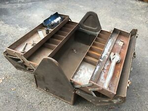 Kennedy Steelmaster Metal Cabinet Industrial Machinist Tool Box Chest Tackle