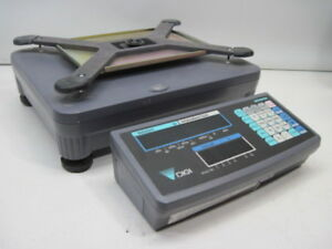 Digi Dmc 290 Scale S x Digital Weighing Platform Cap 50lb 20w 117v Missing Plate