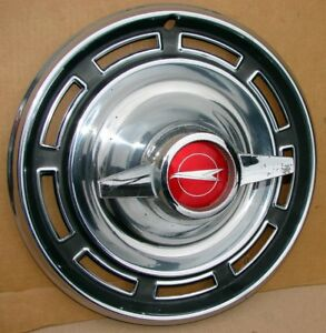 1966 Buick Special Skylark Gs Flipper Spinner Hubcap Wheel Cover