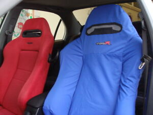 Honda Integra Type R Dc5 Recaro Seats Cover Set 2pcs blue