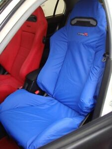 Honda Integra Type R Dc5 Recaro Seats Cover 1 Single Piece blue
