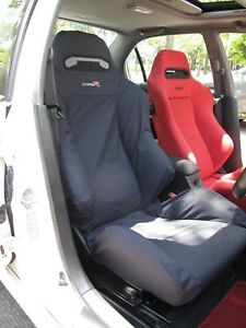 Honda Integra Type R Dc5 Recaro Seats Cover 1 Single Piece black