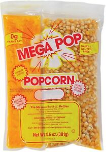 Great Northern 8 Ounce Popcorn Portion Packs Case Of 24 Buttered Snacks Foods