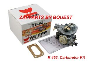 Weber 32 36 Dfev Carburetor Conversion Kit Ford 2 0l 2 3l With Holley 5200