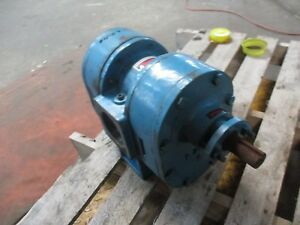 Worthington D1int Gear Pump 416925j Rpm 900 Rate Press 60 3 Threaded New