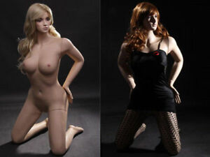 Female Full Body Sexy Big Bust Mannequin Realistic Face And Make up