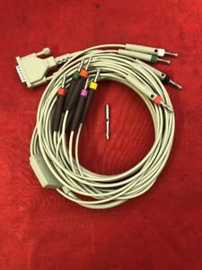 New Welch Allyn Patient Cable 10 Lead Ekg Ecg Cable 80130 0000