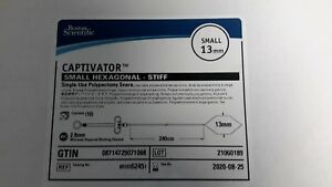 Boston Scientific 6245 Captivator Polypectomy Snare in date