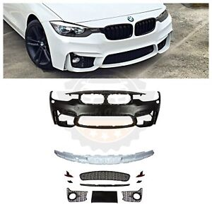 2012 18 F80 M3 Style Front Bumper For Bmw F30 F31 3 Series Sedan Wagon No Pdc