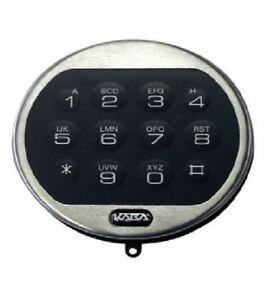 Lg Lagard Basic Chrome Electronic Replacement Keypad Only For Door Entry Device