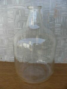 Vintage Pyrex 5 Gallon Carboy Bottle W stopper lab Glass