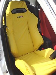 Honda Civic Type R Ek9 Recaro Seats Cover 1 Single Piece Yellow