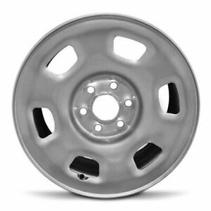 16x7 Inch New Steel Wheel Rim For Lug Gmc Canyon And Chevrolet Colorado 15 16