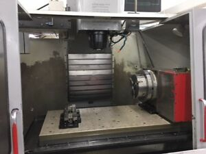 Used Haas Hrt 310 Cnc Brush Rotary Table Indexer Sigma 1 17 Pin Full 4th Axis