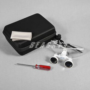 Dental Surgical 3 5x Medical Binocular Loupes Glasses Magnifying Loupe Usa