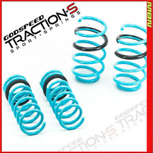 Gsp Ls ts fd 0005 Traction s Lowering Springs For Ford Focus St 2014 2017