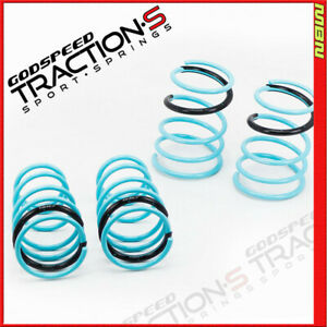 Gsp Ls ts su 0003 Traction s Lowering Springs For Subaru Wrx sti Gdf 2004 07