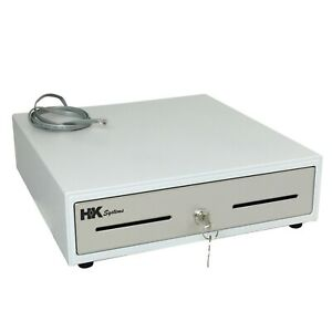 Heavy Duty 13 White ral 9003 Pos Cash Drawer With 4bill 5coin Stainless Steel