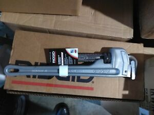 Ridgid 18 Inch Aluminum Pipe Wrench Cat No 31100 Model No 818 Brand New
