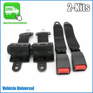 Retractable Seat Belt Kit Extender Buckle Clip Seatbelt Universal Cars Vehicles