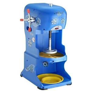 Commercial grade Ice Cub Shaved Ice Machine Adjustable Stainless Steel Blades