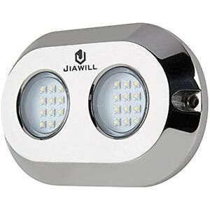 Spotlights Jiawill Dual Color 120w Cree Led Surface Mount Underwater Boat Lights