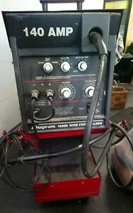 Snap On Ya219c 140a Mig welder 110v Wire Feed Welder